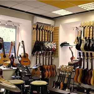 Музыкальные магазины Белоярска